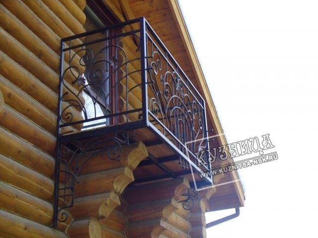 Балконы и решетки кузница - художественная ковка.